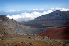 Haleakala Crater, Ma