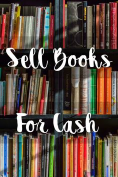 List of Websites to Sell Books for Cash Books sell books Earn Money From Home, Way To Make Money, Make Money Online, Sell Books For Cash, Sell Used Books Online, Sell Books On Amazon, Money Tips, Money Saving Tips, Sell Your Stuff
