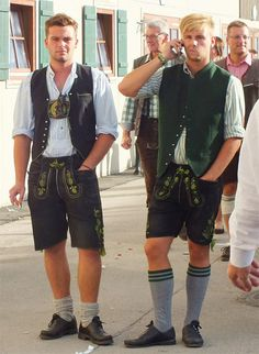 Lederhosen, Alps, Traditional Dresses, Dumb And Dumber, Sexy, Leather, Style, Fashion, Loft Style
