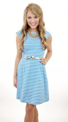 BRIELLE DRESS  - get this entire outfit at www.shopbluedoor.com