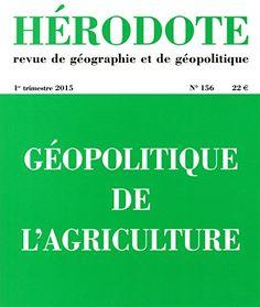 Télécharger Livre Géopolitique de l'agriculture Ebook Kindle Epub PDF Gratuit