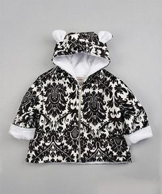 Another great find on #zulily! Moonlight Josephine Organic Hooded Zip-Up Jacket - Infant by My Blankee #zulilyfinds