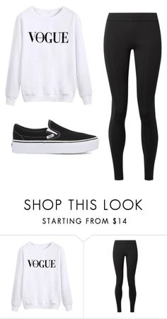 """▪️casual chic▪️"" by christinaritondo ❤ liked on Polyvore featuring The Row and Vans"