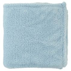 Fleece plaid 130x180 cm Licht blauw