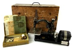 Antique Willcox & Gibbs Sewing Machine MAY 27, 2017