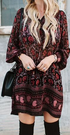 ☮ American Hippie Bohéme Boho Style ☮ Love this dress!!