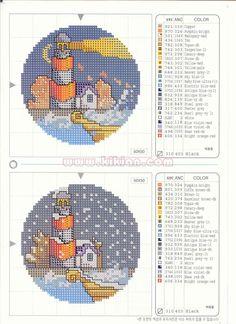 Schema punto croce 4 Stagioni 5b