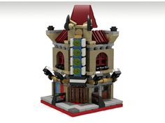 My Mini Modular version of the LEGO Creator Palace Cinema modular building