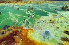 thinx | atlasobscura: Dallol -  Ethiopia  The Hottest...