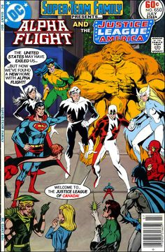 Super-Team Family: The Lost Issues!: Alpha Flight and The Justice League of America