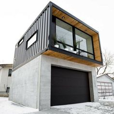 HO2 TINY SHIPPING CONTAINER HOME #containerhomes