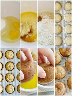 Banana Muffins are soft, bake up perfectly round, and topped with cinnamon & sugar. One bowl is all you need to make the best banana bread muffins. No mixer needed! Best Banana Muffin Recipe, Banana Bread Recipes, Easy Cake Recipes, Muffin Recipes, Snack Recipes, Dessert Recipes, Desserts, Yummy Recipes, Cooking Recipes