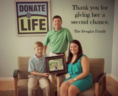 You could also give someone and their family a second chance at life. Register as an organ, eye and tissue donor today at http://www.donatelifenc.org or find your state's registry at http://www.donatelife.net. #DonateLife #organdonation #hero #savelives