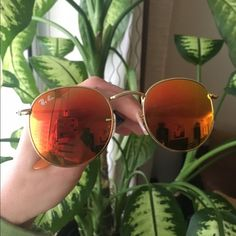Ray Ban Orange color, have just box. No new one, but gentle used.. Ray-Ban Accessories Sunglasses