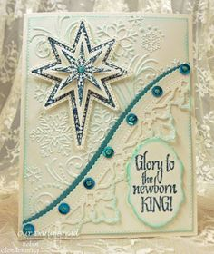 ODBDSLC259  Our Daily Bread Designs Stamp sets: Silk Stars, Snowflake Stars, Our Daily Bread Designs Custom Dies: Leafy Edged Borders, Splendorous Stars, Vintage Labels, Flourished Star Pattern