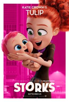 Storks (2016) Johsy and the girls -Josh laughed like crazy. I fell asleep.