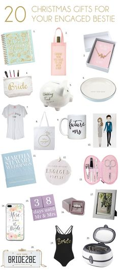 Christmas Engagement Gifts for Your Bestie   SouthBound Bride