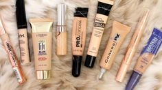 Concealer is every woman's secret weapon. When it comes to applying concealer, many women think that they have got it all figured out. Beste Concealer, Using Concealer, Drugstore Concealer, Color Correcting Concealer, Concealer For Dark Circles, How To Apply Concealer, Blur, Maybelline, Beauty Secrets