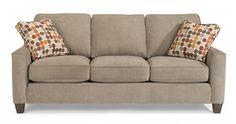 William Fabric Sofa by #Flexsteel via Flexsteel.com