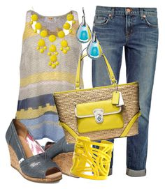"""""""Yellow Bubble Necklaces"""" by gangdise ❤ liked on Polyvore"""