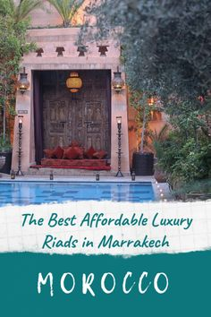 Luxury riads in Marrakech - our tried and tested best places to stay in Marrakech, from opulent 1001 nights palaces to cosy colourful homes with dipping pools and rooftop terraces. A riad is a traditional hotel in Marrakech, and the only way to truly experience the real Morocco. #marrakech #riad #hotel #luxury #guesthouse #marrakesh #morocco #stay #travel #resort