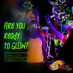 Are you ready to #GLOW again with #HookedOnFitness? Stay tuned for more information about our next #BlackLight #ZumbaParty! Often imitated but NEVER duplicated... Another shot from #HookedOnFitness