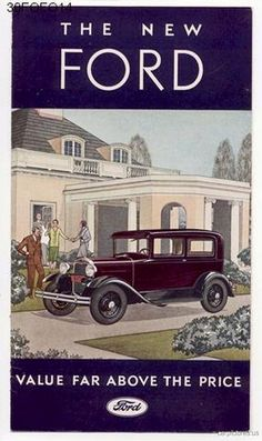 1930 Ford A Ad. More Car Pictures:  http://carpictures.us