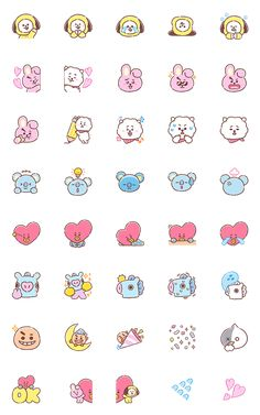 things to draw Mini Drawings, Cute Easy Drawings, Cute Kawaii Drawings, Bts Drawings, Emoji Stickers, Printable Stickers, Cute Stickers, Kawaii Stickers, Journal Aesthetic