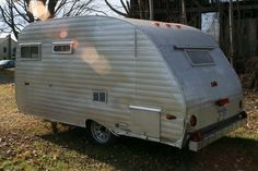 Couple Buys and Refurbishes a 1965 Camper With Amazing Results - Lots of photos!