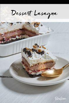 No-Bake Dessert Lasagna via @PureWow via @PureWow
