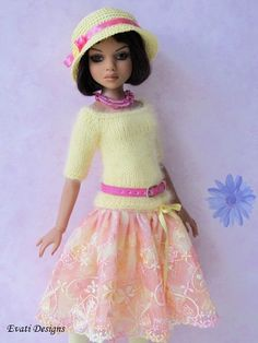 Evati OOAK Outfit for Ellowyne Wilde Amber Lizette Tonner 2 | eBay. Sold 8/18/13 for $138.50.