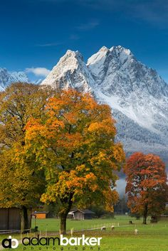 All time fall morning in Garmisch, Germany. Simply doesn't get much better than this.  -- © Adam Barker