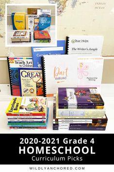 2020-2021 Grade 4 Homeschool Curriculum Picks Bible Atlas, Adventure Bible, Devotions For Kids, Heart Touching Story, Math 5, Short Stories For Kids, Bible Study For Kids, Lesson Planner, Dance Lessons