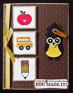 So Cute! Graduation card