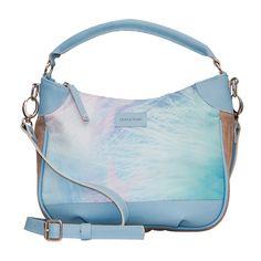 Leather Bag Pandora Cielo Cartera 100% cuero argentino www.ohlechat.com