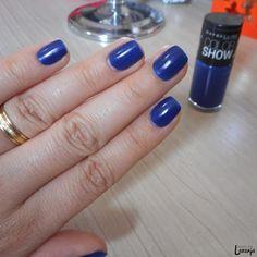 Esmalte da Semana | Sapphire Siren (Color Show, Maybelline) | Nail Polish | Perspectiva Laranja