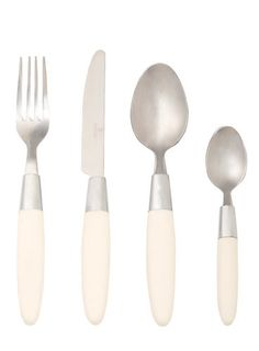 Shop for Viners Fondant Cream Cutlery Set from our Dining range. This Cream cutlery set has stainless steel heads & a comfortable grip. Cream Kitchen Accessories, Home Accessories, Kitchenware, Tableware, Stainless Steel Cutlery, Home Gadgets, Cutlery Set, Cake Tins, Utensils