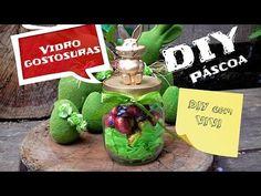 DIY/ Páscoa - ideia para presentear na Páscoa - pote do coelho/ DIY EAST...