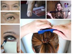 Truques geniais para cabelo, maquiagem e unhas.