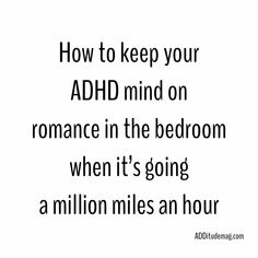 Tips for dating someone with adhd