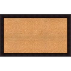 "Darby Home Co Hillandale Cork Bulletin Board Size: 36"" H x 60"" W x 0.88"" D"