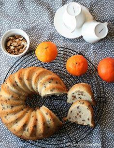 Brioche aux pépites de chocolat et noix, bio, sans oeufs, gluten, lait.......