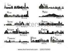 Find Silhouette Sights 11 Cities Italy Turin stock images in HD and millions of other royalty-free stock photos, illustrations and vectors in the Shutterstock collection. Turin, Silhouette Tattoos, Silhouette Vector, Naples, Skyline Tattoo, King Tattoos, Skyline Silhouette, Siena Italy, Clip Art