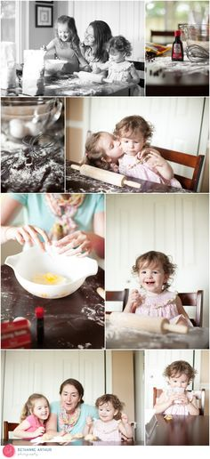 Family Lifestyle Photography Session Photos Ideas Baking Cookies Mommy Daughter Pictures Mother Sisters Sibling Photographer Virginia Hampton Roads Virginia Beach NOVA   Bethanne Arthur Photography bethannearthurphotography.com