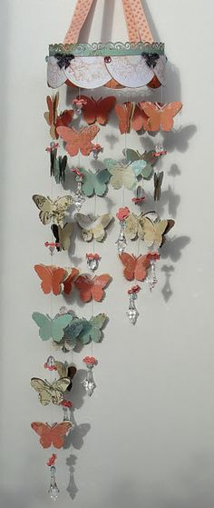 Lovely Gabrielle Butterfly Mobile @Carin McDonough #bobunny