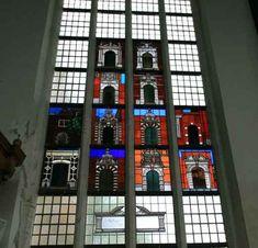 Oosterkerk, Hoorn, raam twaalf Hoornse poortjes