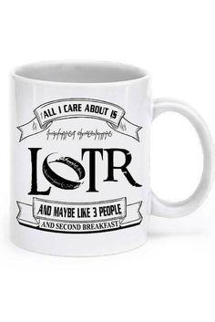 Lord Of The Rings Mug AHAHAHAHA. Describes me pretty well.  ;)