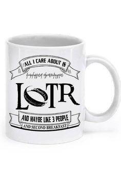 Lord Of The Rings Mug AHAHAHAHA. Describes me pretty well.  ;)