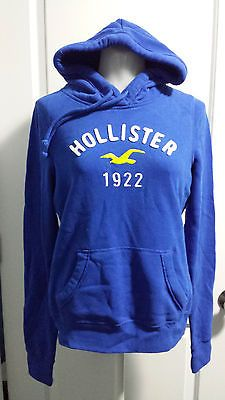 Brand NEW Womens Hollister Co Blue Pull Over Hooded Sweater Sz S