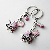 Personalized Cute Baby Carriage Keyring (Set ... – USD $ 29.99